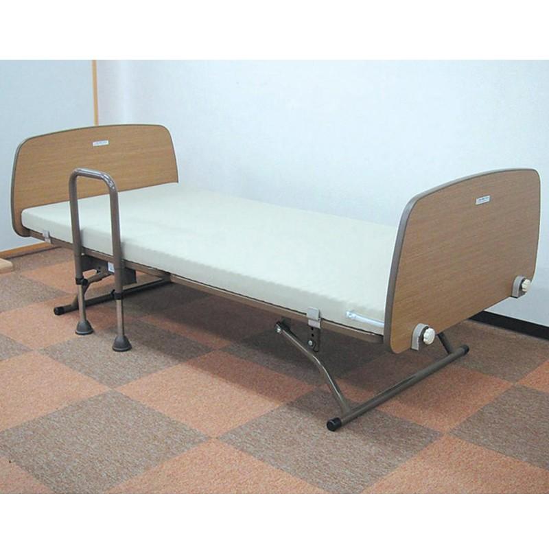 まごころベッド(手すり付) CORE-80011